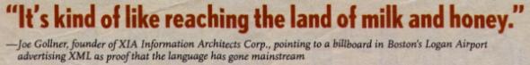 eWeek Quote from XML World 2000