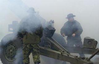 Gun Crew in action