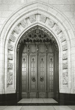 Parliamentary Doorway