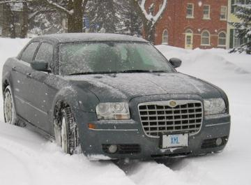 The XML Limo overcoming the elements