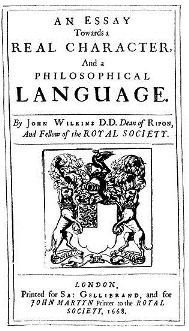 An Essay towards a Philosophical Language (John Wilkins)