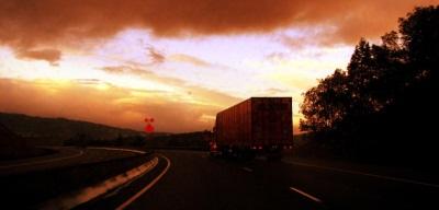 Trucks at Night