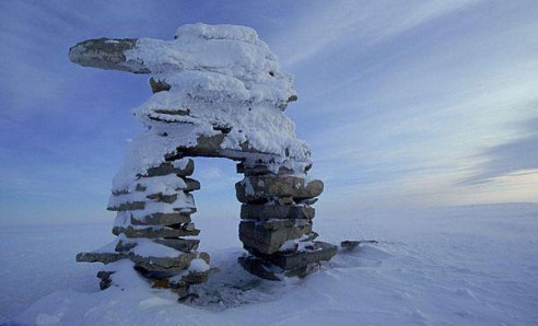 Inuksuk Shaped People