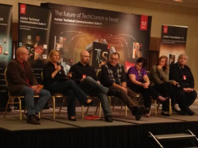 Discussion Panel at the Adobe Thought Leadership Day