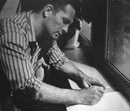 Jack Kerouac Writing