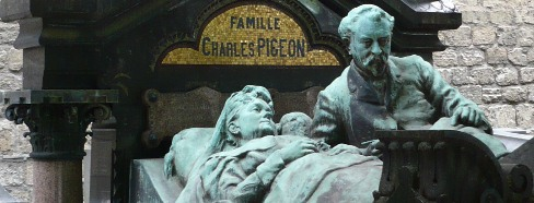Charles Pigeon Monument