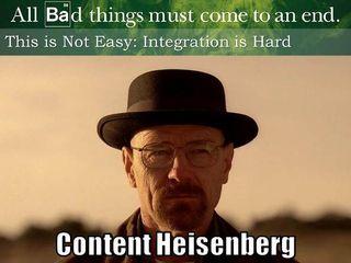 Content Heisenberg