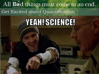 Yeah! Science! Get Excited about Content Quantification!