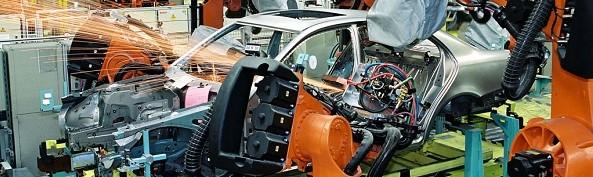 Mercedes Assembly Line