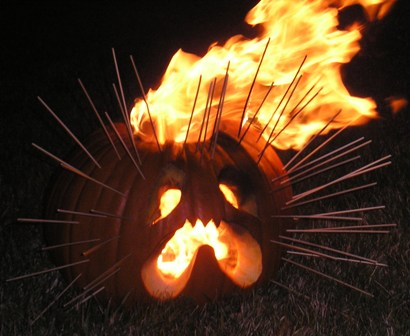 Burning Pumpkin - The Early Stages