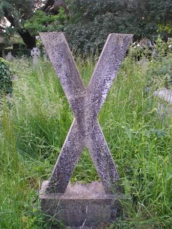 X Gravestone
