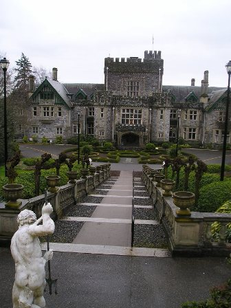 Stairway to Hatley Castle