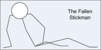 The Fallen Stickman